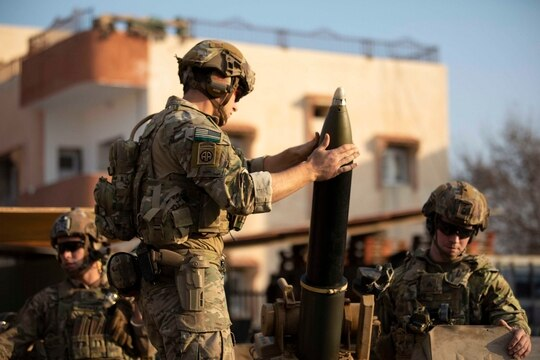 New documents show troop levels in Syria over the past four years, which the Defense Department had been reluctant to disclose. (Spc. Sidney Perry/Army)