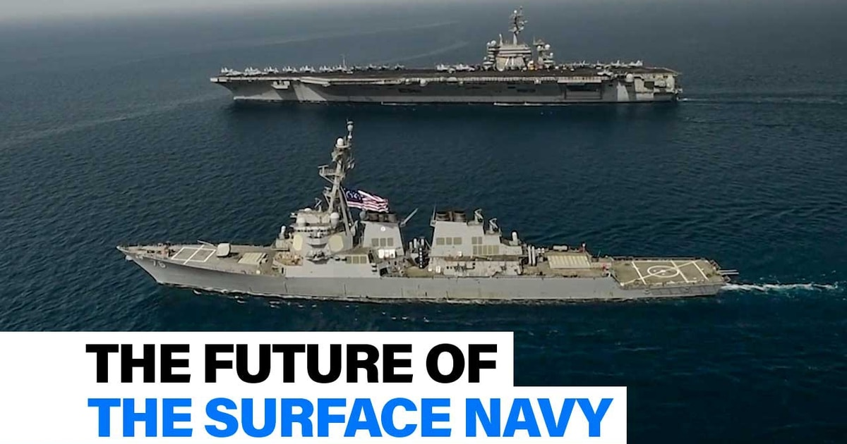 The future of the surface Navy | Defense News Weekly full episode, Jan. 17, 2020