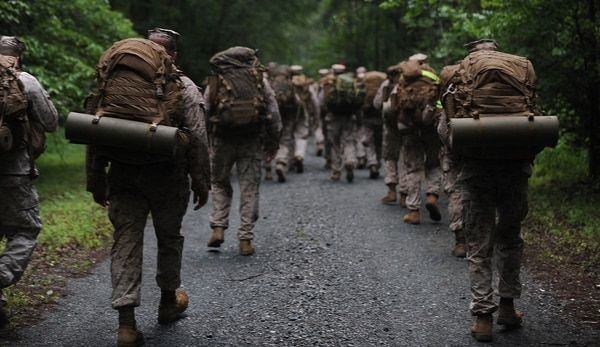 Six officers accused of ­cheating at The Basic School night land ­navigation course now face ­administrative ­separation. (Lance Cpl. Cuong Le/Marine Corps)