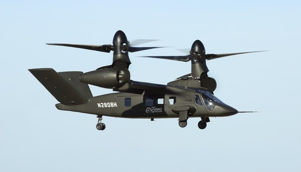 The V-280 Valor and SB-1 Defiant are demonstrators that will inform the Army as it moves toward actually selecting vendors to produce and later buy new aircraft. (Army Futures Command)