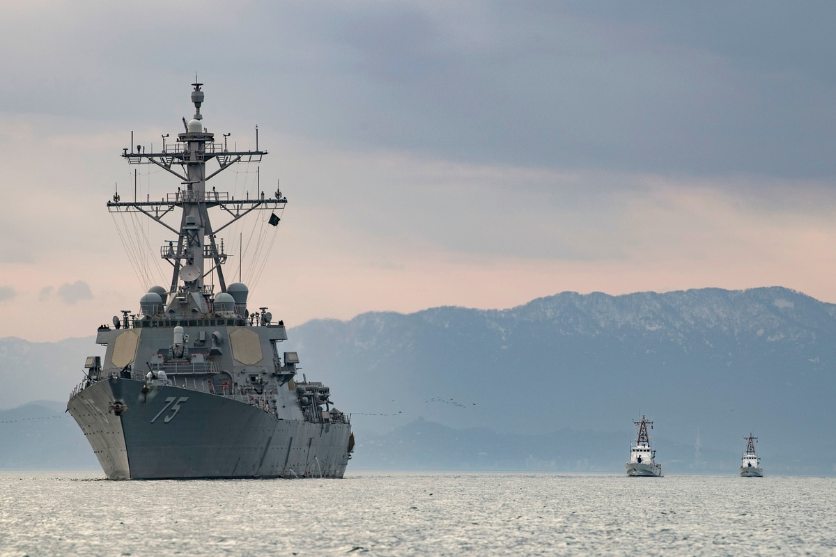 Destroyers Left Behind Us Navy Cancels Plans To Extend Service Lives Of Its Workhorse Ddgs