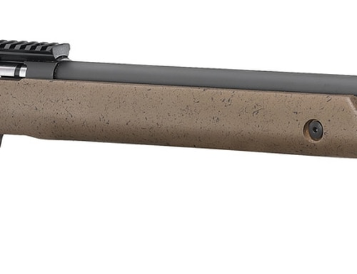The military-inspired stock and appearance are both handsome, and very functional.