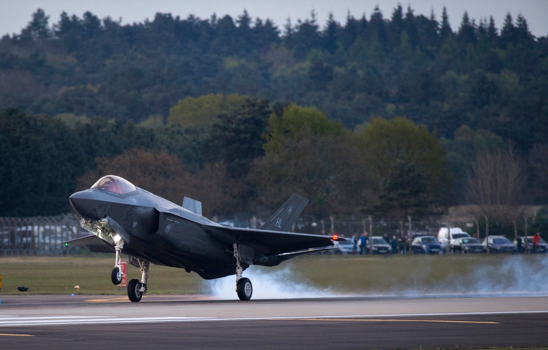 Lockheed Martin's top program in fiscal 2019 was the F-35 Joint Strike Fighter. The firm's largest customer was the United States, followed by Saudi Arabia. (Staff Sgt. Emerson Nuñez/U.S. Air Force)