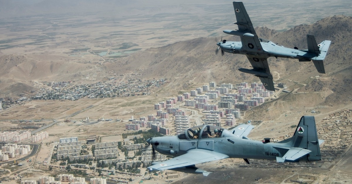 US Air Force's plan to launch light-attack aircraft