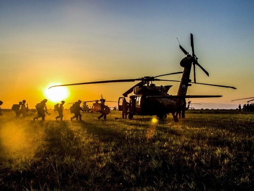 When special operations soldiers had a night-time training exercise near Fort Bragg, local residents protested and local officials said it won't happen again. Here, soldiers practice loading into a UH-60 Black Hawk helicopter in Europe. (Spc. Thomas Scaggs/Army)