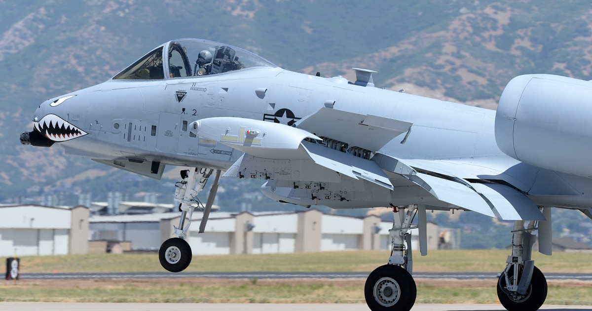 A-10 re-winging completed, will keep Warthog in the air until late 2030s