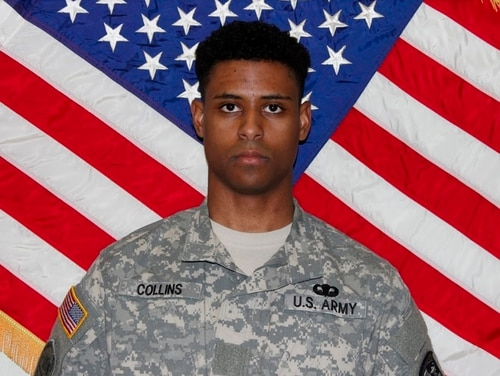 This undated photo provided by the U.S. Army shows Richard Collins III. (U.S. Army via AP)